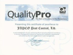 QualityPro Certificate Of Excellence