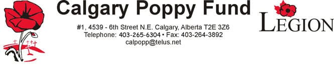 Poppy Fund Donation