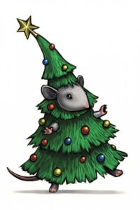 Christmas Tree Mice Tips